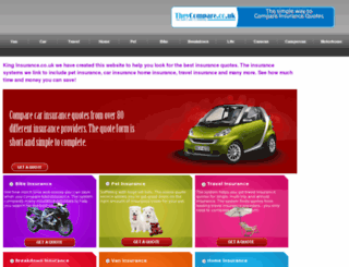 kinginsurance.co.uk screenshot