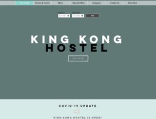 kingkonghostel.com screenshot