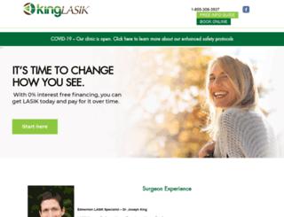 kinglasik.ca screenshot