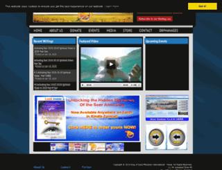kingofgloryministries.org screenshot