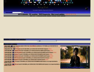 kingofsat.fr screenshot