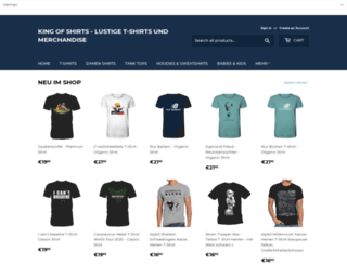 kingofshirts.org screenshot