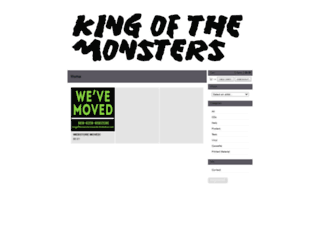 kingofthemonstersrecords.bigcartel.com screenshot