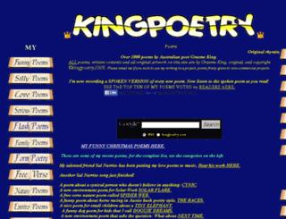 kingpoetry.com screenshot