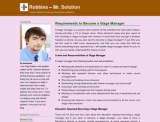 kingrobbins.wordpress.com screenshot