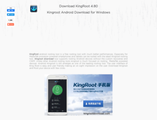 Access kingrootdownload com  Kingroot Download for Windows and