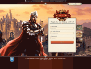 kingsage.com screenshot