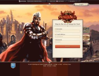 kingsage.org screenshot