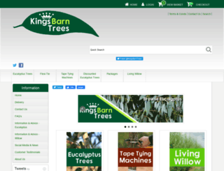 kingsbarntrees.co.uk screenshot