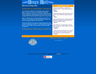 kingscall.com screenshot