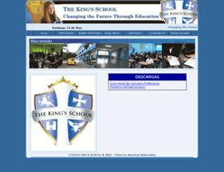 kingschool.school-access.com screenshot