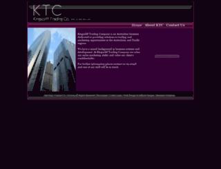 kingsclifftrading.com screenshot