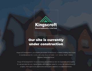 kingscroft.ie screenshot
