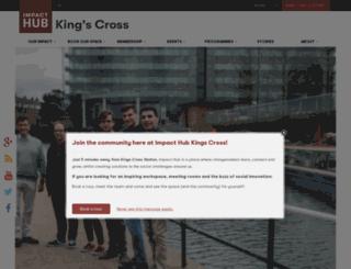 kingscross.the-hub.net screenshot