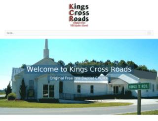 kingscrossroads.com screenshot
