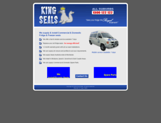 kingseals.com.au screenshot