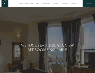 kingshotelbrighton.co.uk screenshot