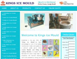 kingsicemould.in screenshot