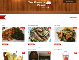 kingsizeplace.com.ng screenshot