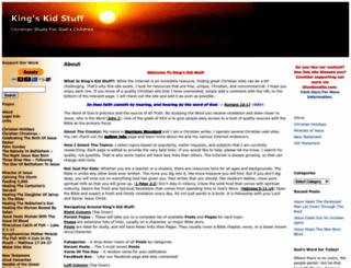 kingskidstuff.com screenshot