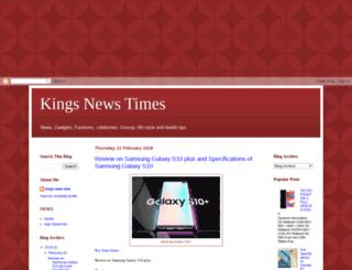 kingsnewstimes.blogspot.com.ng screenshot