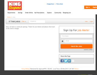 kingsoopers.applicantpro.com screenshot