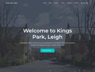 kingsparkleigh.co.uk screenshot