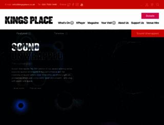 kingsplace.co.uk screenshot