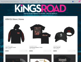 kingsroadmerch.eu screenshot