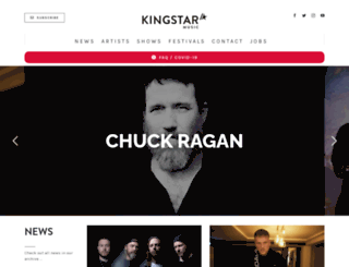 kingstar-music.com screenshot
