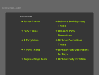 kingstheme.com screenshot