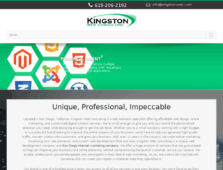kingston-web.com screenshot