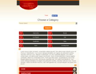 kingstondirectories.com screenshot