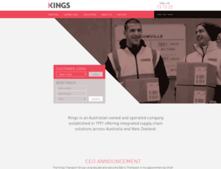kingstransport.com.au screenshot