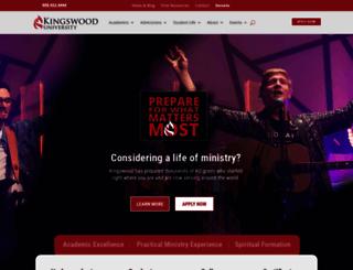 kingswood.com screenshot
