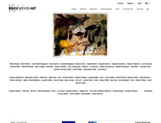 kingswoodart.com screenshot