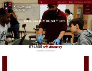 kingswoodoxford.org screenshot