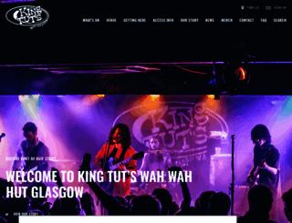 kingtuts.co.uk screenshot