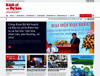 kinhtevadubao.vn screenshot