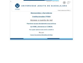 kino.iteso.mx screenshot