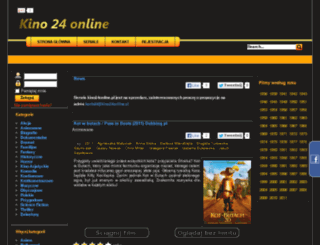 kino24online.pl screenshot