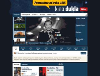 kinodukla.cz screenshot