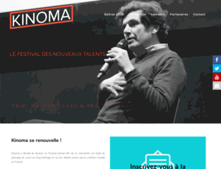 kinoma.fr screenshot
