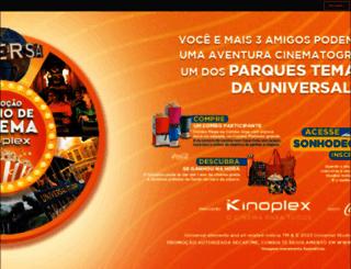 kinoplex.com.br screenshot
