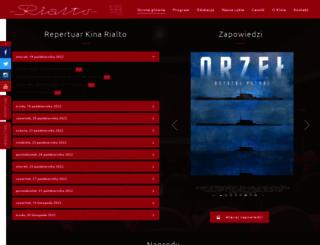 kinorialto.poznan.pl screenshot