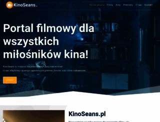 kinoseans.pl screenshot