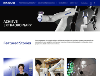 kinovarobotics.com screenshot