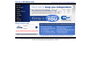 kinray.com screenshot