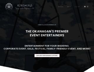 kinshira.com screenshot