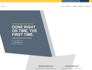 kinterelectric.com screenshot